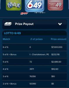 lotto 649 May 17