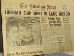 old evening news