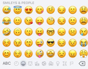 emoji shot